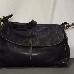 Vintage Liz Leather shoulder bag